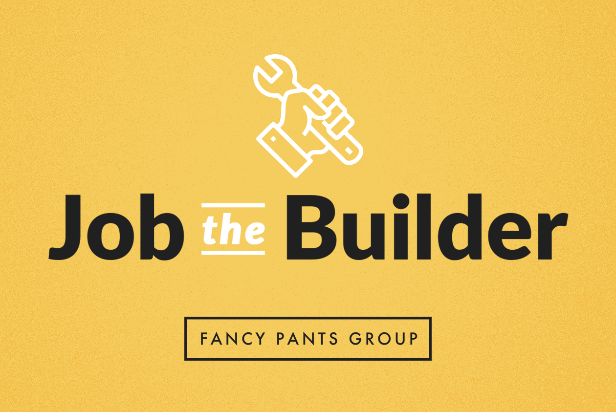Job the Builder logo and icon