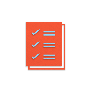 Campaign to do list icon