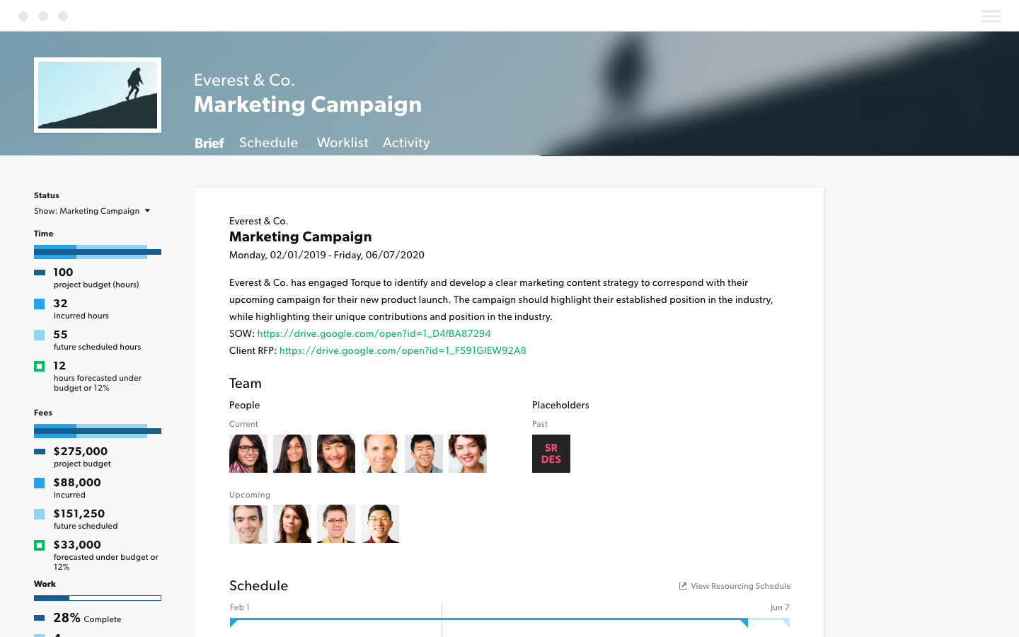 Marketing project management tools marketing campaign tool