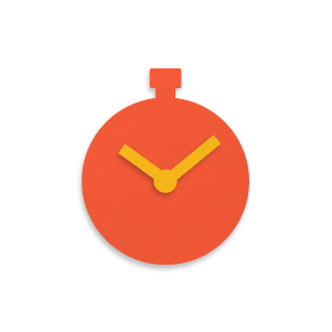 Time entry icon for designers